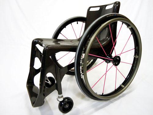 量産タイプNO2カーボンモノコック車椅子