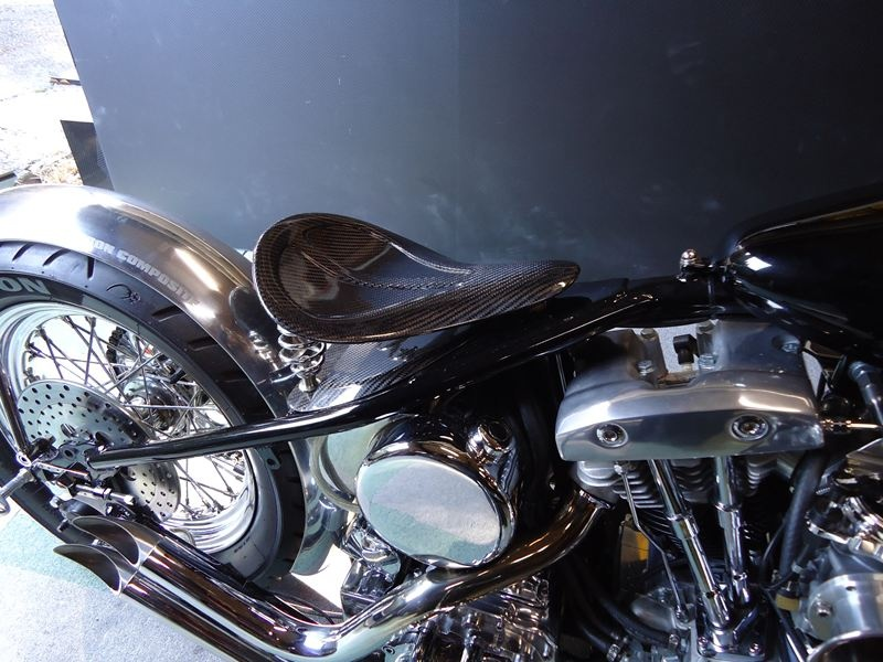 バイクカーボンシート